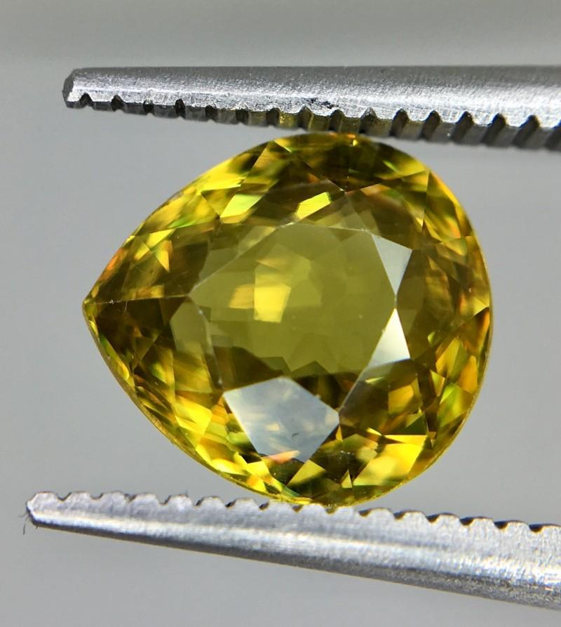 2.10 Crt  Natural Sphene Faceted Gemstone