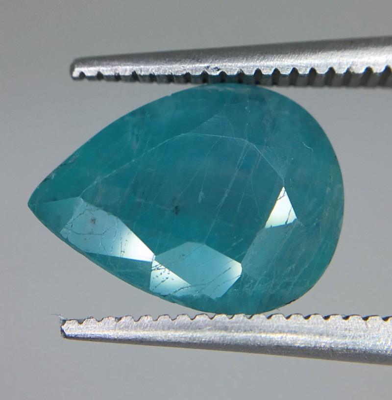 3.35 Crt Rare Grandidierite Faceted Gemstone