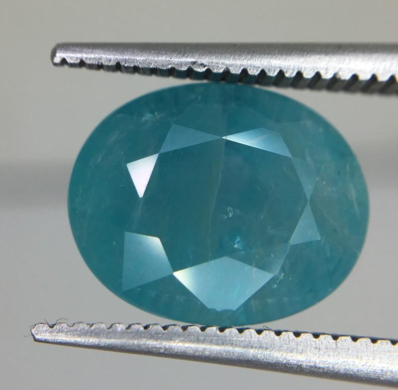 3.95 Crt Rare Grandidierite Faceted Gemstone