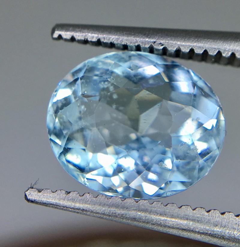 1.85 Crt Aquamarine Faceted Gemstone
