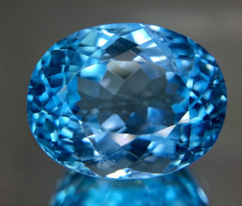 23.30 Crt Topaz Faceted Gemstone
