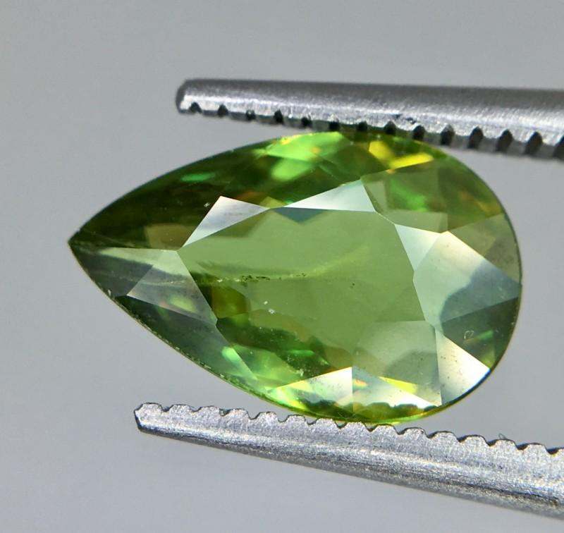 1.65 Crt  Natural Sphene Faceted Gemstone