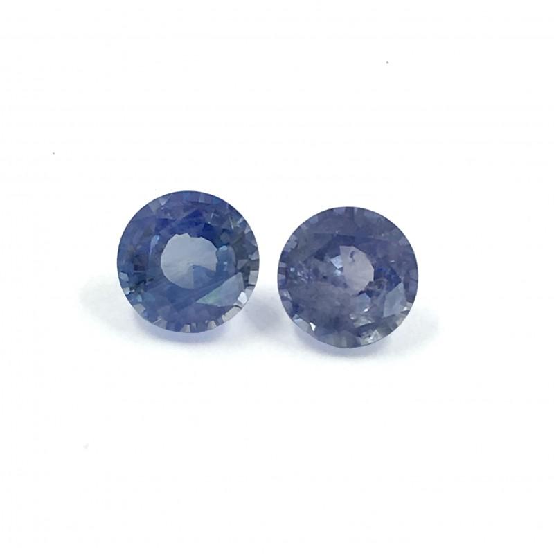 Natural Blue Sapphire Pair|Loose Gemstone|New| Sri Lanka
