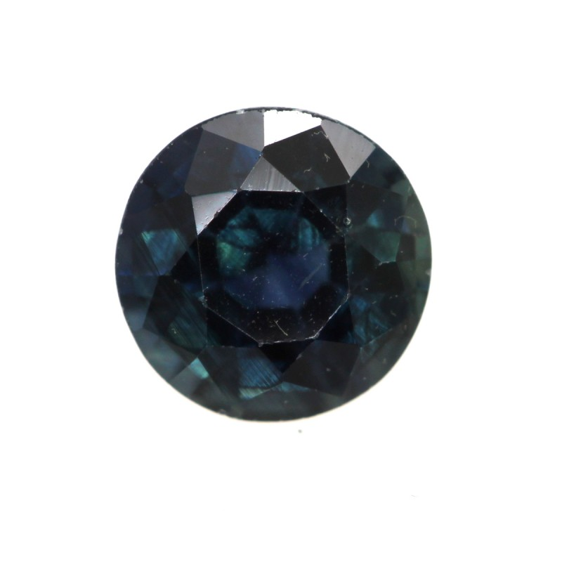 0.67cts Natural Australian Blue Sapphire Round Shape