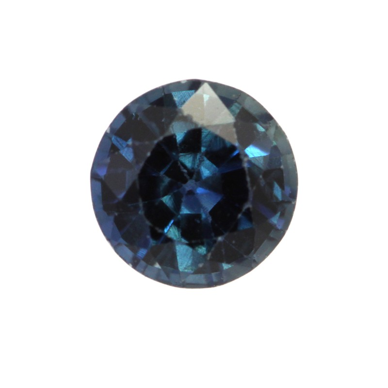 0.52cts Natural Australian Blue Sapphire Round Shape