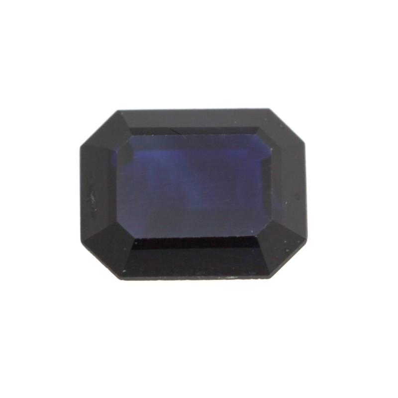 0.60cts Natural Australian Blue Sapphire Emerald Cut