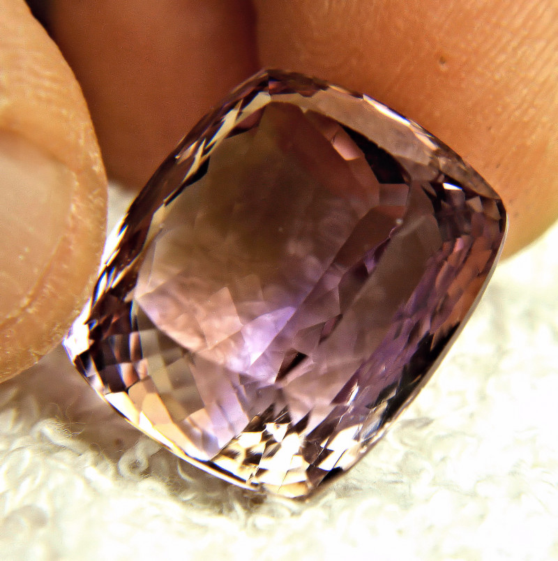 37.59 Carat VVS Bolivian Purple Gold Ametrine - Gorgeous