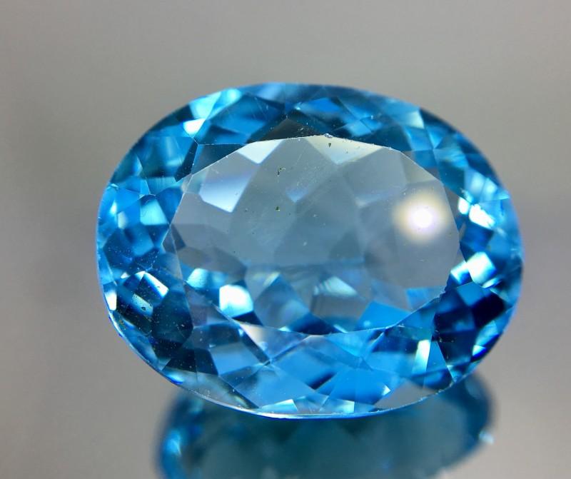17.75 Crt Topaz Faceted Gemstone