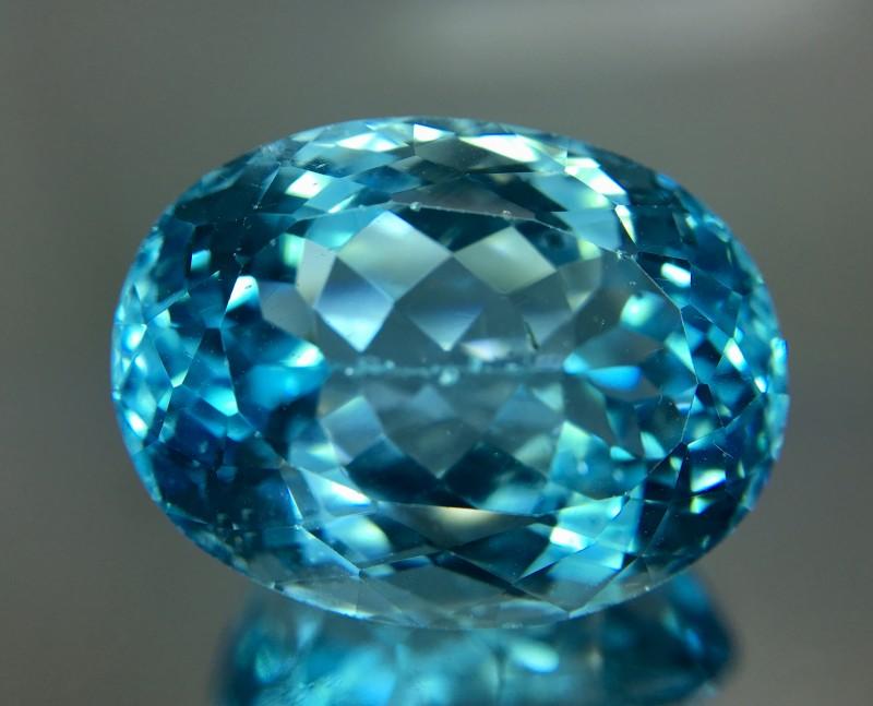 33.85 Crt Topaz Faceted Gemstone
