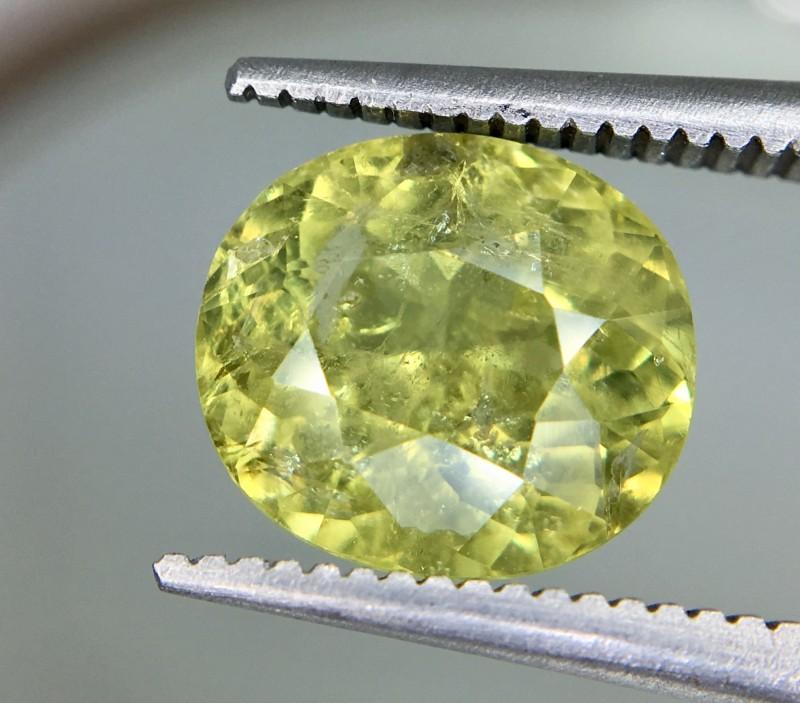 3.25 Crt Mali Garnet Faceted Gemstone