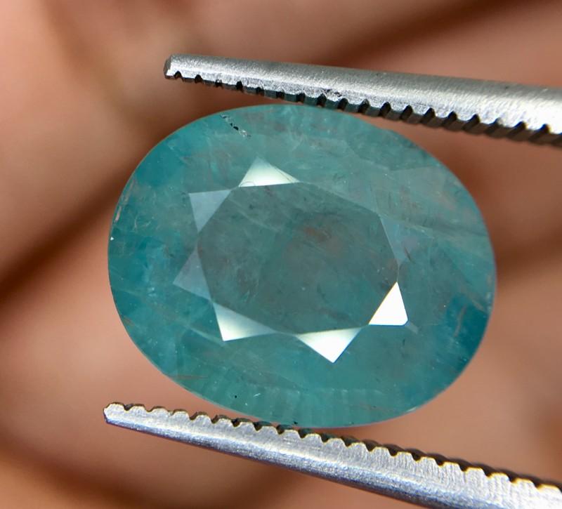 3.75 Crt Rare Grandidierite Faceted Gemstone
