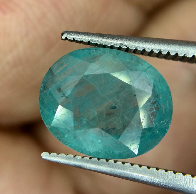 3.05 Crt Rare Grandidierite Faceted Gemstone