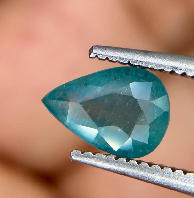 0.85 Crt Rare Grandidierite Faceted Gemstone