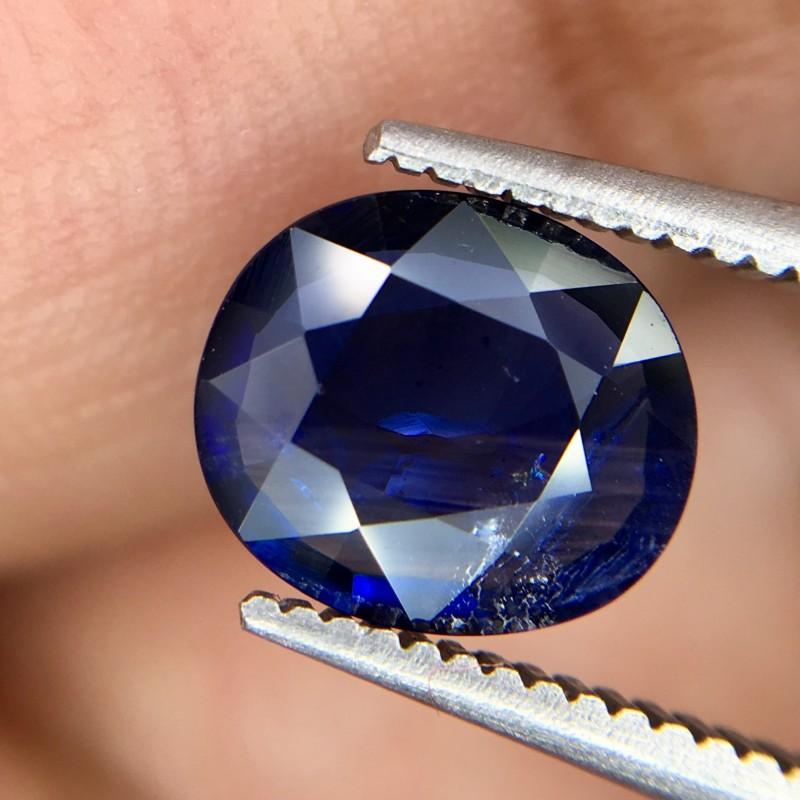1.25 Crt Sapphire Faceted Gemstone