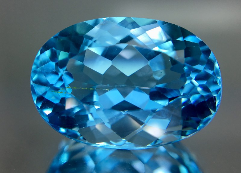 16.20 Crt Topaz Faceted Gemstone