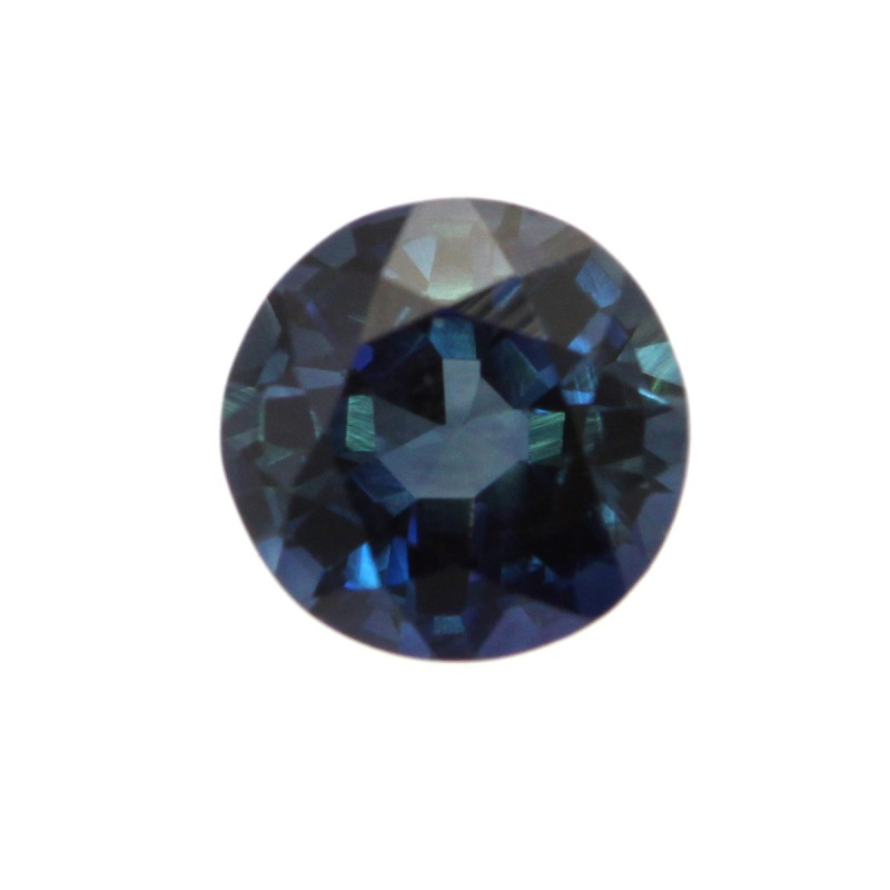 0.53cts Natural Australian Blue Sapphire Round Shape