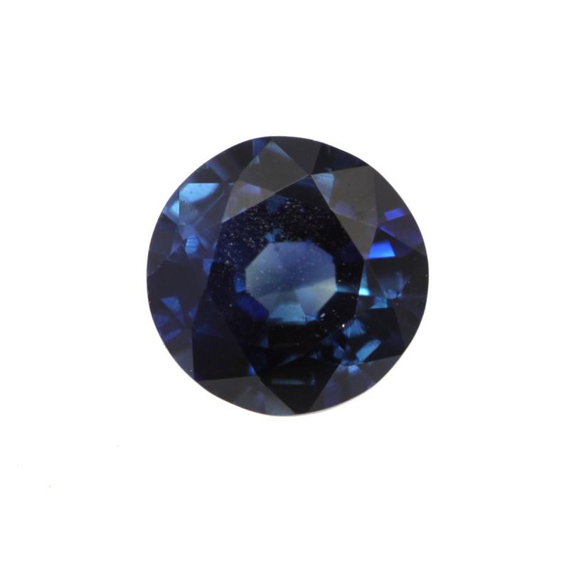 0.57cts Natural Australian Blue Sapphire Round Shape