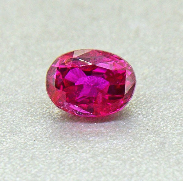 Unheated Ceylon HOT Pink Sapphire 0.57 Ct. Will look Amazing a Ring! (00679
