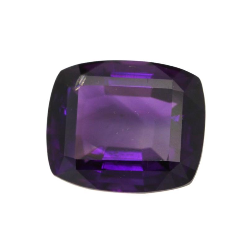5.88cts Natural Purple Amethyst Cushion Shape