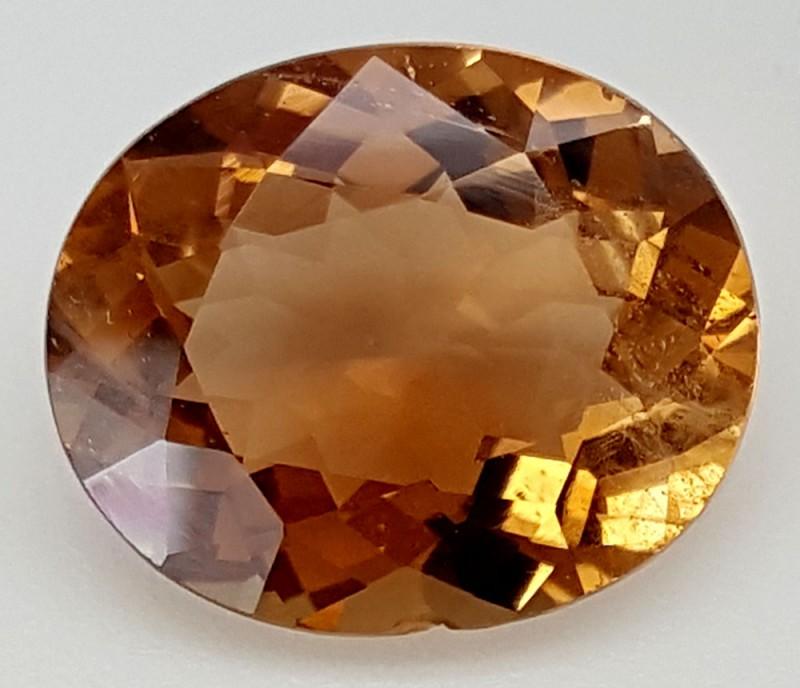11 Crt Natural Topaz Top Color Gemstone JITP03