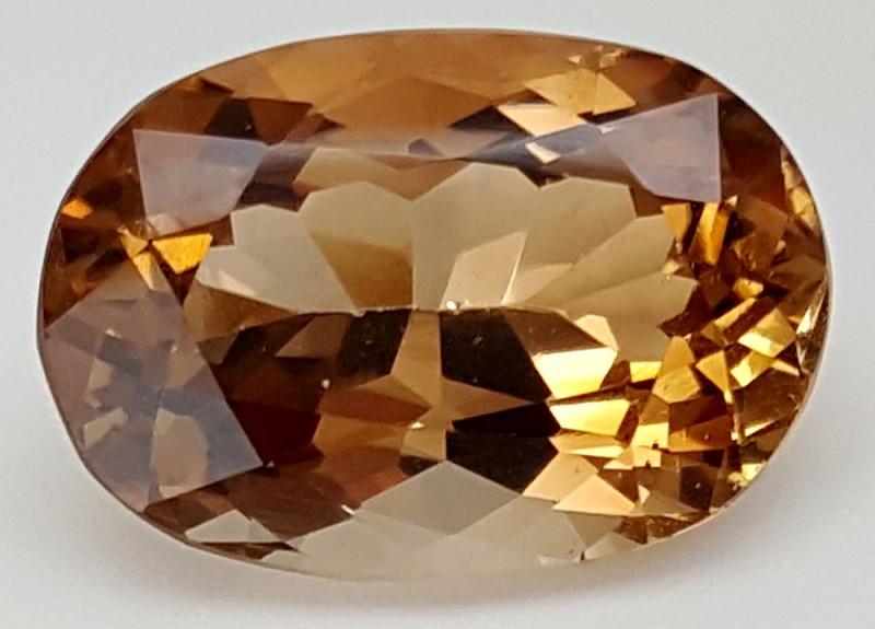 14 Crt Natural Topaz Top Color Gemstone JITP05