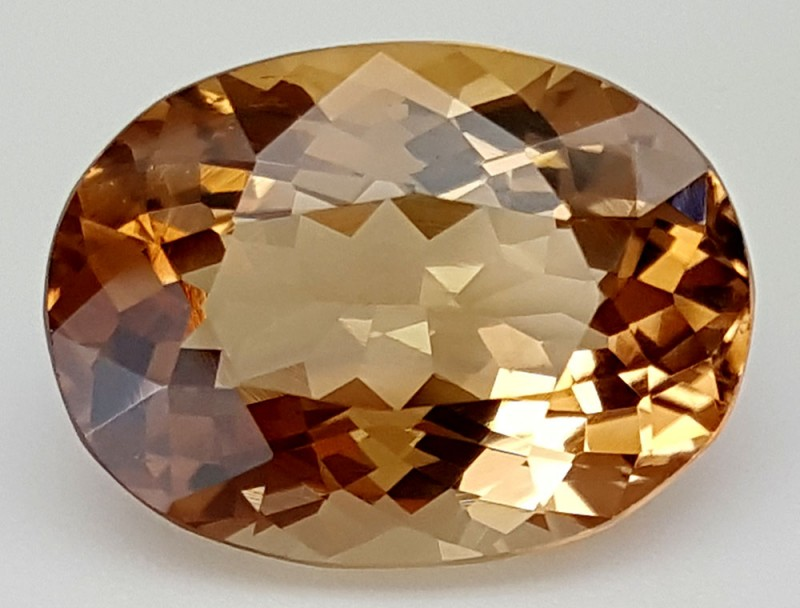 14.9 Crt Natural Topaz Top Color Gemstone JITP11