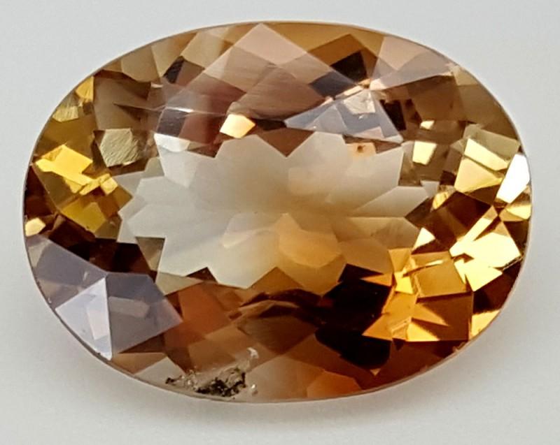 10.90Crt Natural Topaz Top Color Gemstone JITP31