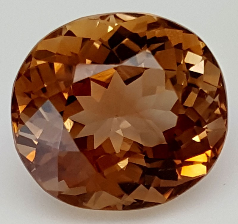 12 Crt Natural Topaz Top Color Gemstone JITP37