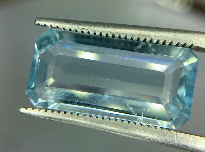 5.15 Crt Aquamarine Faceted Gemstone