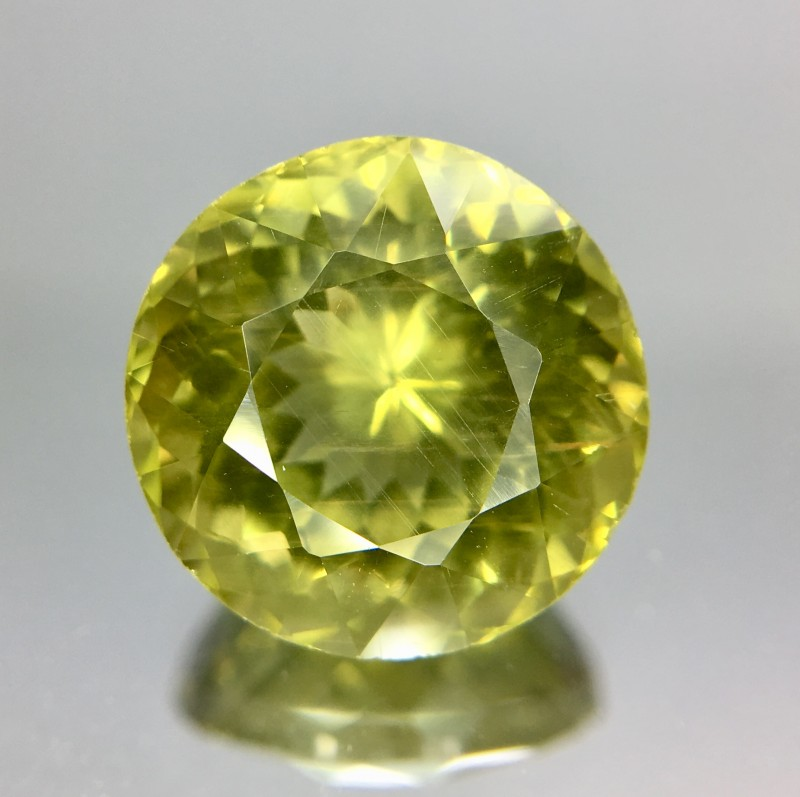 5.90 Crt Natural Apatite Faceted Gemstone