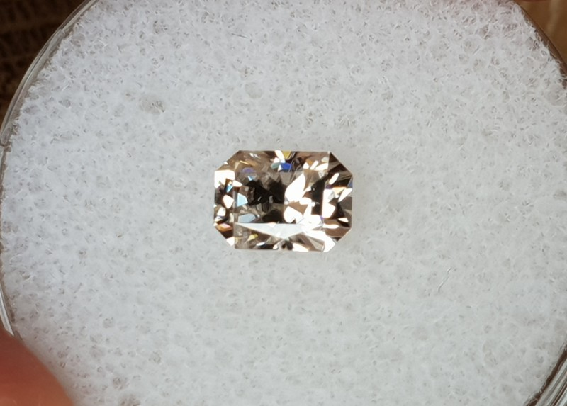 1,16ct White Zircon - Master cut!