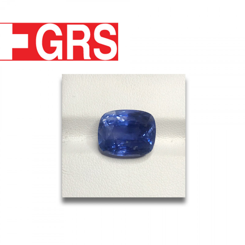Natural GRS Unheated Blue Sapphire|Loose Gemstone|New| Sri Lanka