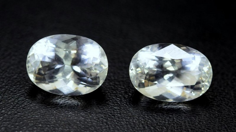 15.10  carats Claibrated Pieces of Natural Aquamarine Loose Gemstone