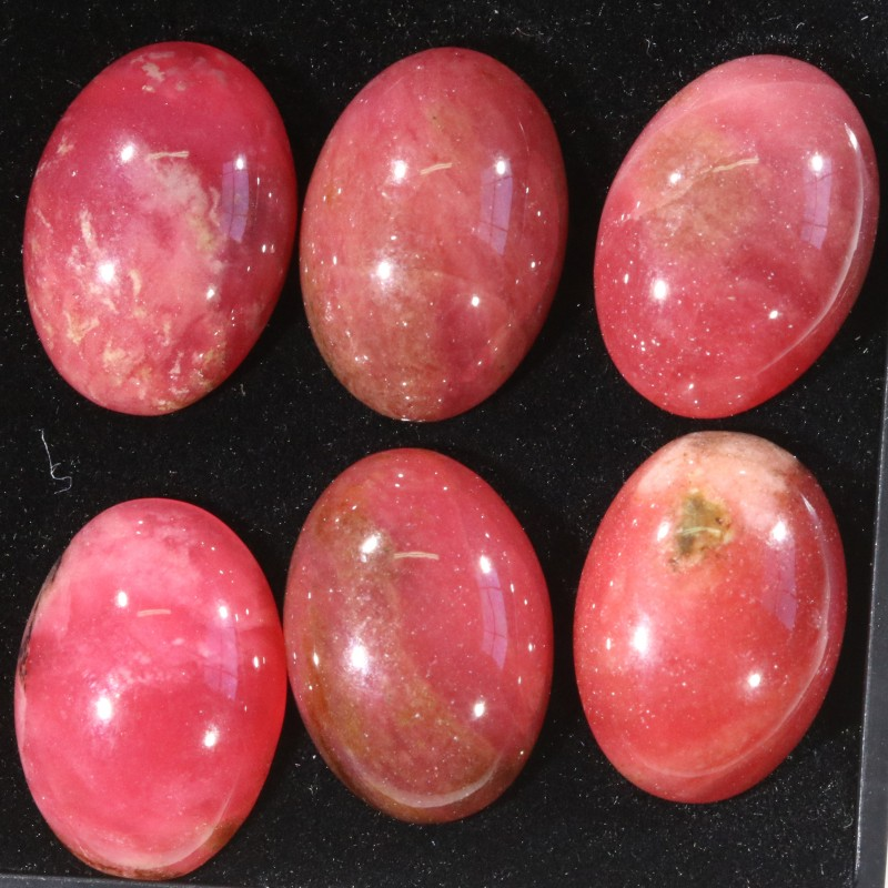 38.55Cts parcel  Old Stock Australian Red  Rhodonite   WS188