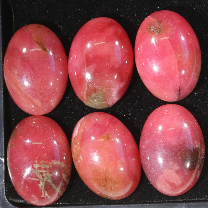 40.15Cts parcel  Old Stock Australian Red  Rhodonite   WS178