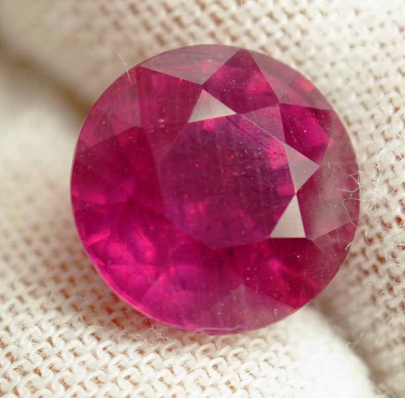 7.64 Cts . Top Quality  Natural Ruby Winza Tanzania Gem