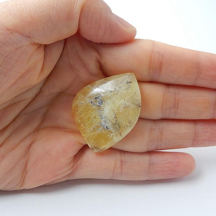 30ct Natural Gemstone Yellow Opal Cabochon (18080601)