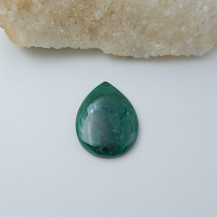 93.5ct Malachite Gemstone Cabochon (18080604)