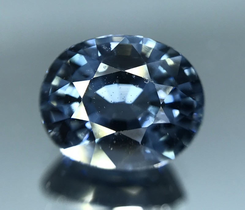 CERTIFIED COBALT BLUE SPINEL , 2.28 CT's ,VVS,AN EXQUISITE GEM