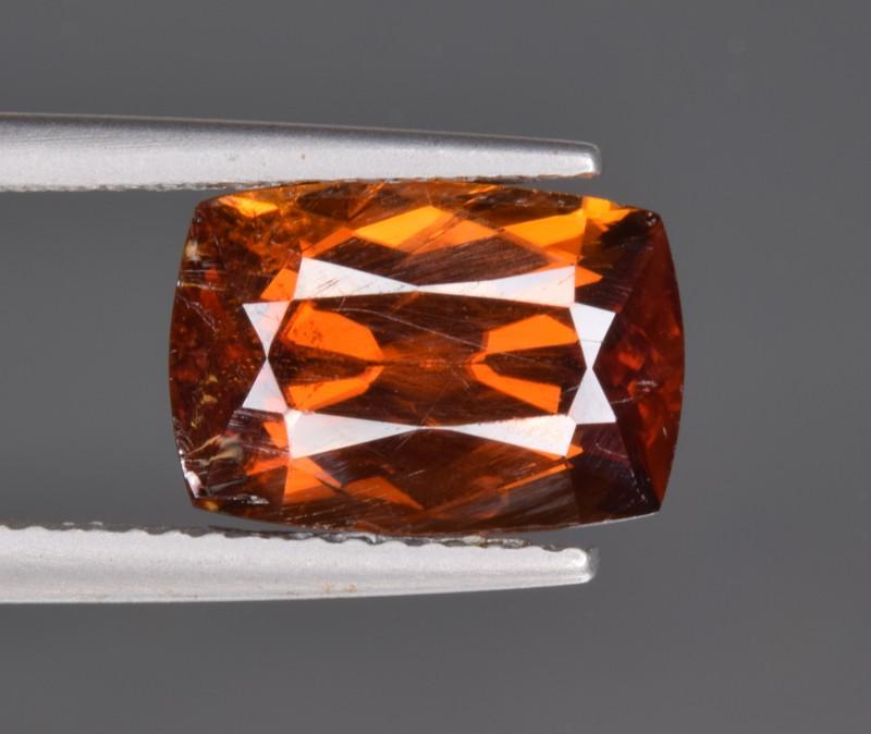 Natural Rare Bastnasite Faceted Gemstone 5.85 Cts from Zagi, Pakistan
