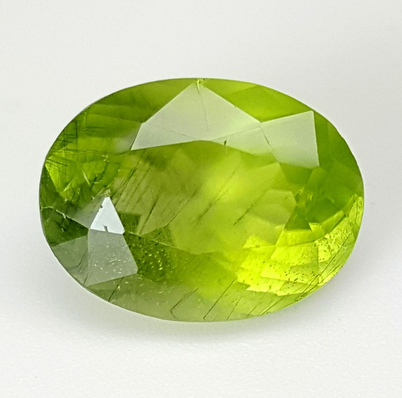 9.35 Crt Rutile Peridot Of Pakistan Top Collection RUP06