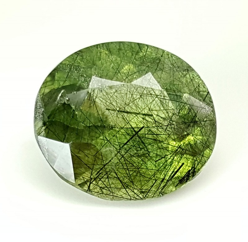 6.75 Crt Rutile Peridot Of Pakistan Top Collection RUP13