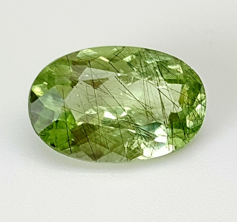 4.4 Crt Rutile Peridot Of Pakistan Top Collection RUP21