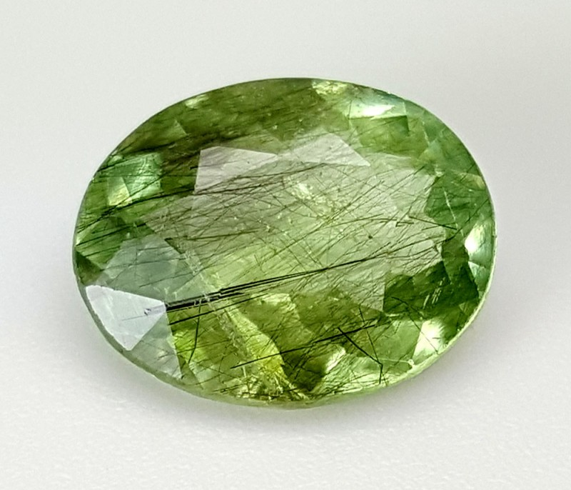 3.5 Crt Rutile Peridot Of Pakistan Top Collection RUP28