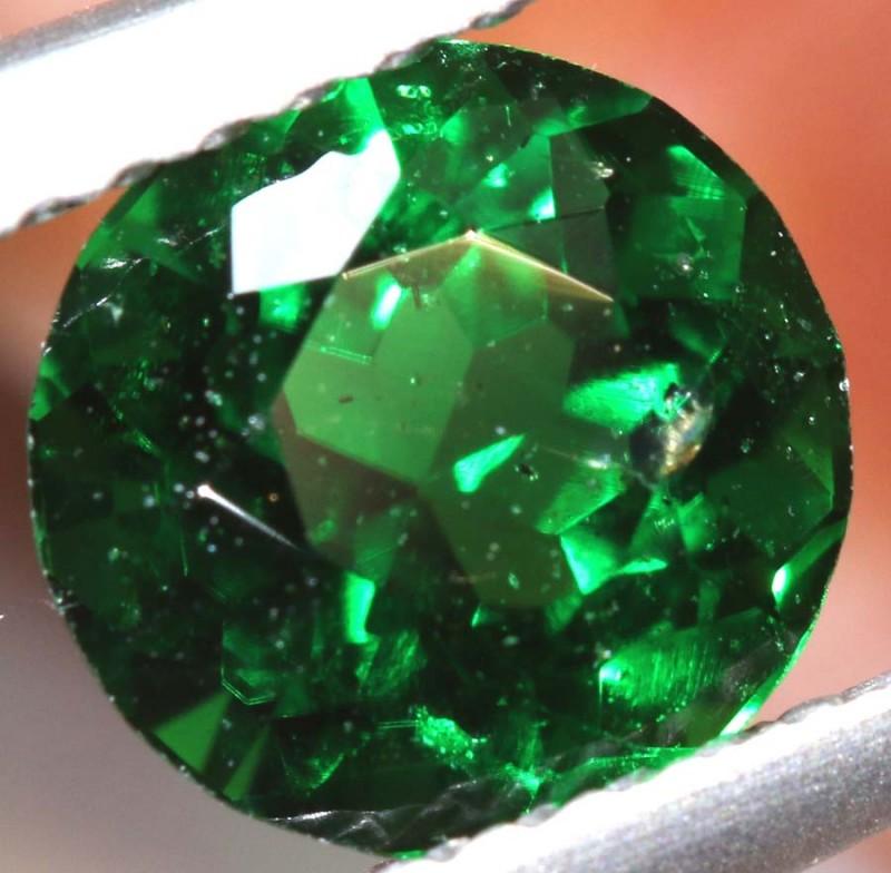1.35- CTS NATURAL TSAVORITE GREEN GARNET- TBM-1438