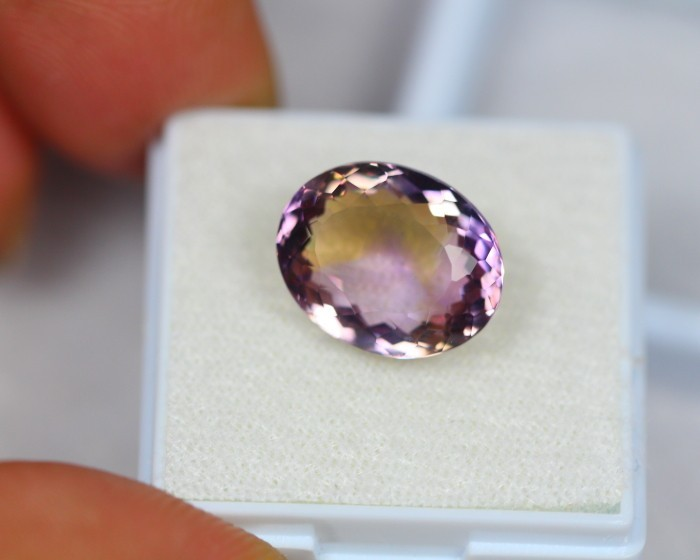 7.50Ct Ametrine Oval Cut Lot LZB461