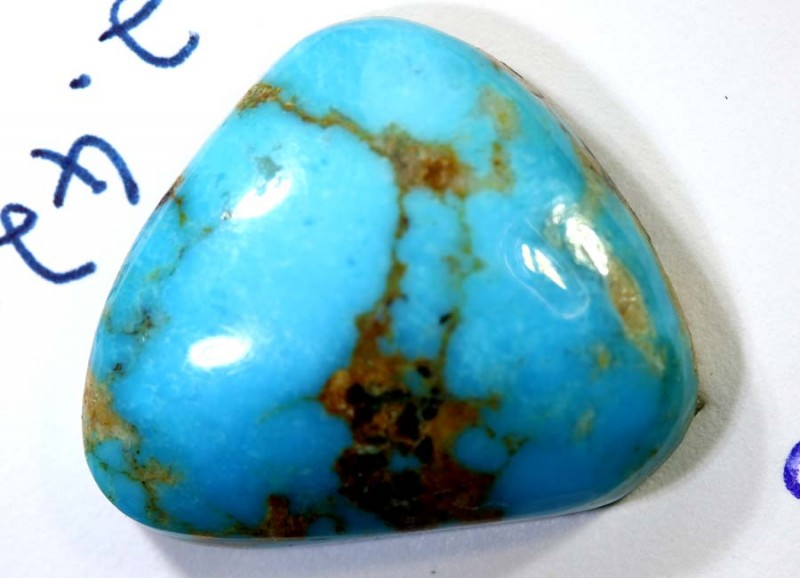 12.10-CTS TURQUOISE NATURAL CAB  TBM-1448