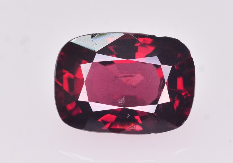 GIL Certified 2.18 Ct Gorgeous Color Natural Red Spinel