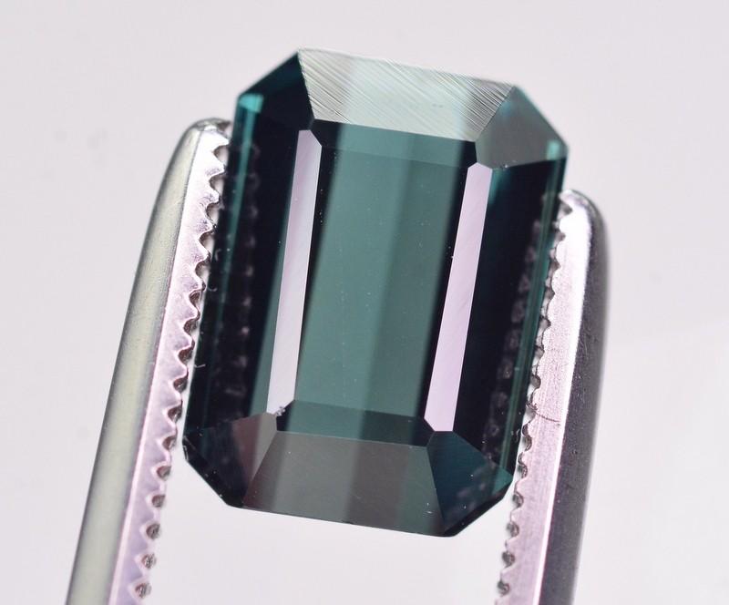 1.80 Ct Gorgeous Color Natural Indicolite Tourmaline