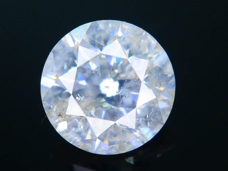 "Certified 0.55 ct Diamond Untreated ""H"" Color SKU 4"